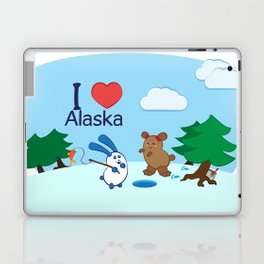 Ernest and Coraline | I love Alaska Laptop & iPad Skin