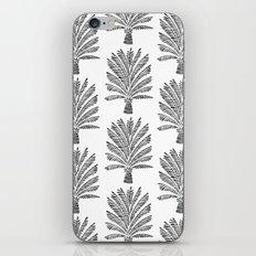 Palm Tree – Black iPhone & iPod Skin
