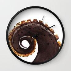 ocean treasures No.2  Octopus Tentacle  Wall Clock