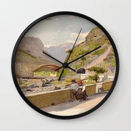 Vintage poster - Fernet-Branca Wall Clock