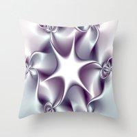 tiffany Throw Pillows featuring Tiffany by Imagevixen