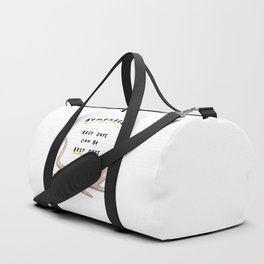 Honest Blob - Rest Days Duffle Bag