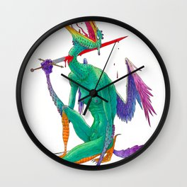 Self Sacrifice Wall Clock
