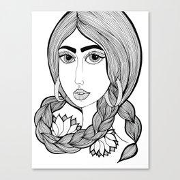 Rupi Kaur Canvas Print