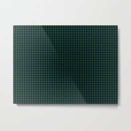 Gordon Tartan Metal Print