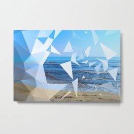 broken sea Metal Print