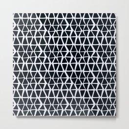 Black Angles Metal Print