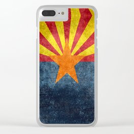 State flag of Arizona, the 48th state Clear iPhone Case