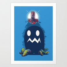 Glow In The Dark Art Print