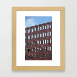 Amsterdam Conversation Framed Art Print