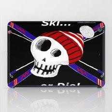 Ski or Die! iPad Case