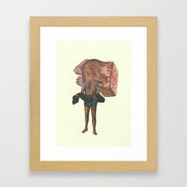 Deathpunch Framed Art Print