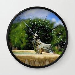 Secret Garden Splashes Wall Clock