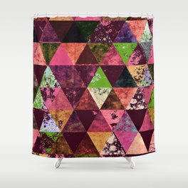 Abstract #936 Shower Curtain