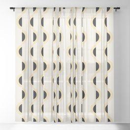 Gwynne Pattern Sheer Curtain
