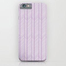 Herringbone Orchid iPhone 6s Slim Case