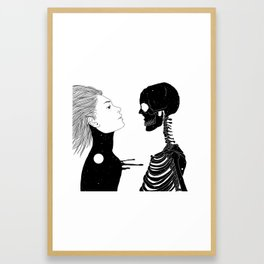 Lost in Existence (Wherever You Are) Framed Art Print