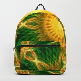Solar Growth Mandala Backpack