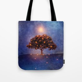 Energy & lights Tote Bag