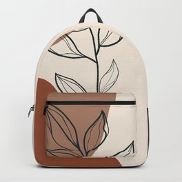 Organic Blooms rocks Backpack