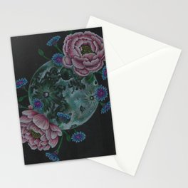 Flower Full Moon (May) Stationery Cards
