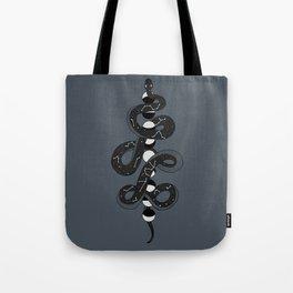 Celestial Moon Snake by Moon Goddess Market Tote Bag