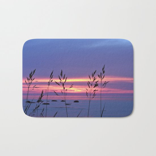 Simplicity by the Sea Bath Mat