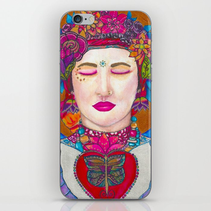 Close Your Eyes,Fall in Love, Stay There iPhone Skin