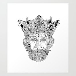 £ee $cratch Perry King of Arts Art Print