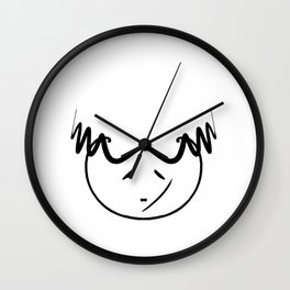 mio did a mistake Wall Clock