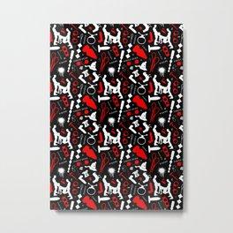 Dirty Boys Pattern Metal Print