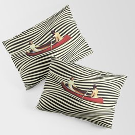 Illusionary Boat Ride Pillow Sham