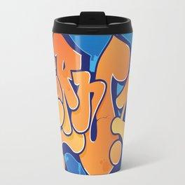 Lern 1 Bubblegum Graffiti NYC Travel Mug
