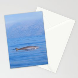 Beaked whale in the mist Stationery Cards