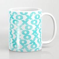 xoxo Mugs featuring xoxo by Sandra Arduini