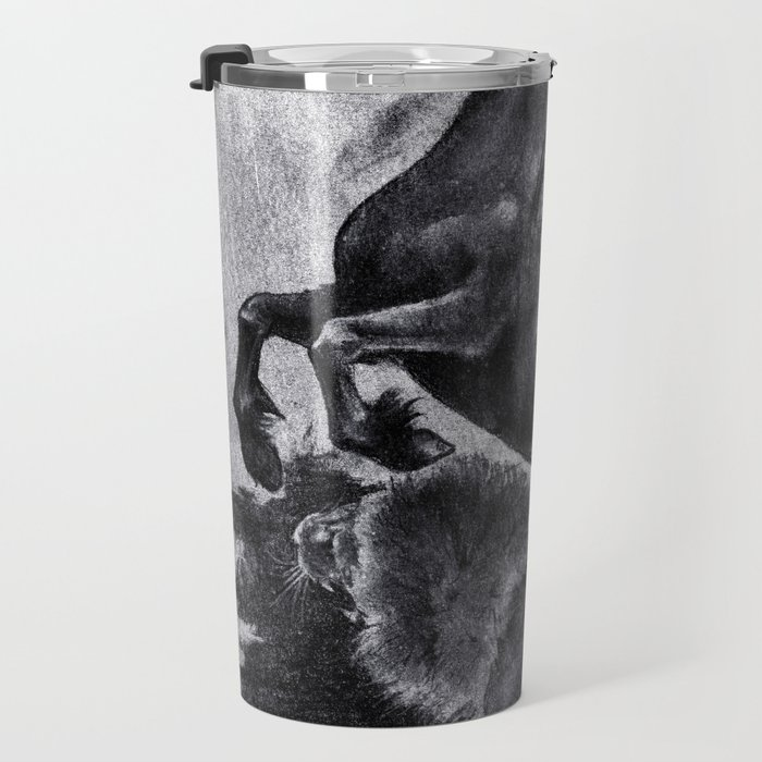 The Savage and The Untamed Travel Mug