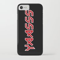 iron maiden iPhone & iPod Cases featuring Yaasss Iron Maiden Metal Typography Print by RexLambo