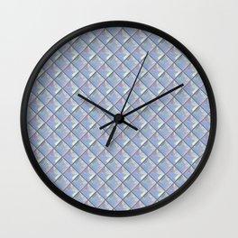 Plastic Tiles Wall Clock