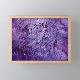 Amethyst Dragon Framed Mini Art Print