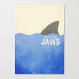 Jaws - Minimal Canvas Print