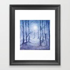 Track 5: Winter Framed Art Print