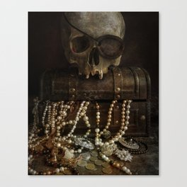 The Lost Treasure Canvas Print