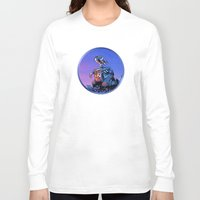 wall e Long Sleeve T-shirts featuring WALL-E (Painting Style) by ElvisTR