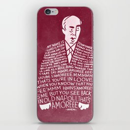 My Name is John Daker iPhone Skin