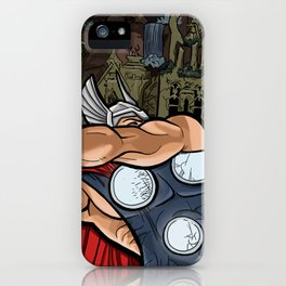 The Mighty Thor, God of Thunder iPhone Case