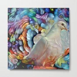 Precious Dove Metal Print