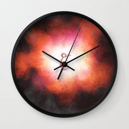 Beginning or Implosion Wall Clock