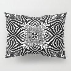 Black & White Tribal Symmetry Pillow Sham