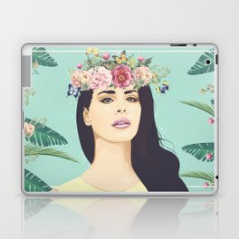 Hipster Queen Laptop & iPad Skin