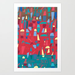 structures 6 Art Print